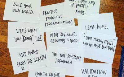 Voler comme un artiste par Austin Kleon : développer sa créativité