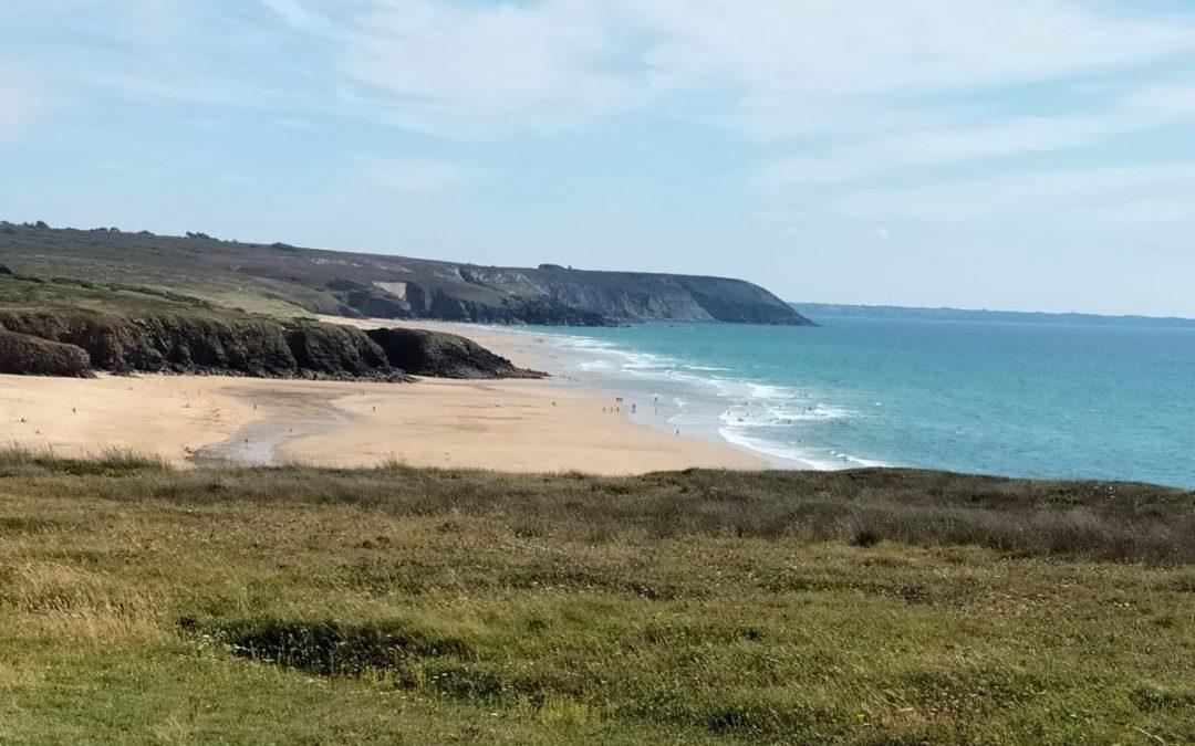 Se souvenir des belles choses : la plage de Lostmarc'h (presqu'île de Crozon)
